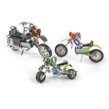 Motorrad Rezikliertes Blech