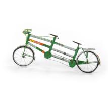 "Fahrrad ""Tandem"" Rezikliertes Blech"
