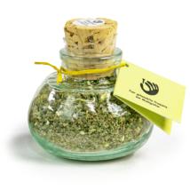 Kräuter Salz im Geschenkglas