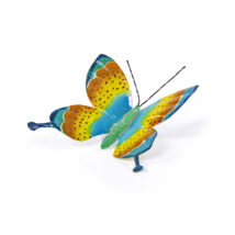 Schmetterling, farbig bemalt