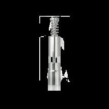 Stossmühle Chromstahl